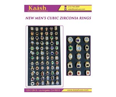 New Men's Cubic Zirconia Rings