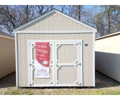 12X16 Lofted Utility Storage Shed
