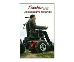 Shop All Terrain V6 Frontier Off Road Electric Wheelchair