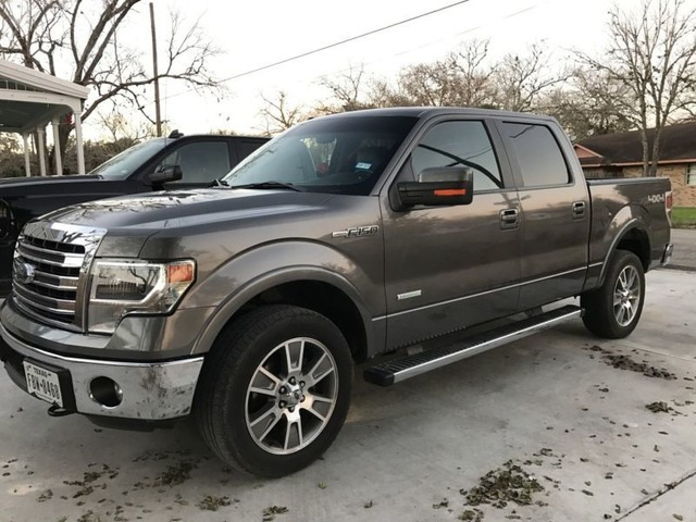 Super Crew Cab >> 2014 Ford F 150 Lariat Super Crew Cab Pickup 4 Door Trucks