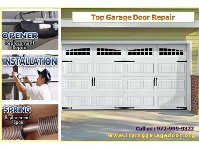 24*7 Garage Door Service Providers In Irving TX 75039