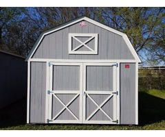 Pre-owned 12x16 Lofted Barn Storage Shed - PRICE REDUCTION