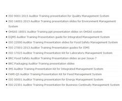 Lead ISO Auditor Training