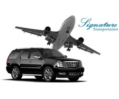 Traveling First Class in Airport Limousine Service