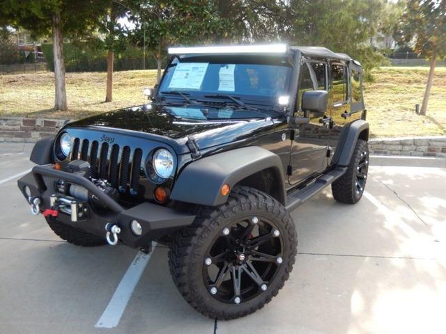 2012 Jeep Wrangler Unlimited Sport Utility 4 Door