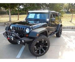 2012 Jeep Wrangler Unlimited Sport Utility 4-Door
