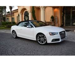 2013 Audi S5 3.0T Cabriolet Quattro Premium Plus 2 Tone Leather