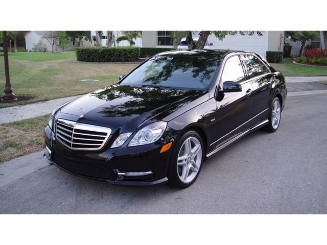 Mercedes eclass 2012