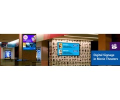 Theater Digital Signage can Increase your Customer