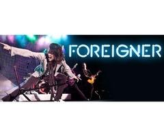 Foreigner Concert Tickets & Tour Dates 2018