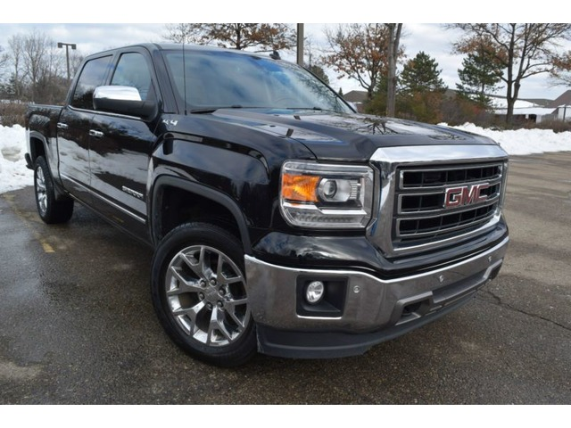 2017 Gmc Sierra 1500 4wd Slt Edition Crew Cab Pickup 4 Door