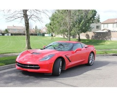 2016 Chevrolet Corvette Stingray Coupe 2-Door