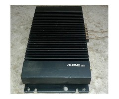 ALPINE 3523 2 CHANNEL BRIDGEABLE AMPLIFIER