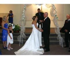 White Wedding Dress Size 12
