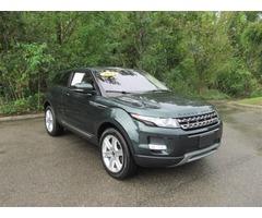 2012 Land Rover Evoque Pure Sport Utility 2-Door