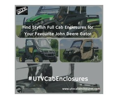 Buy John Deere Gator Full Cab Enclosure for Sale