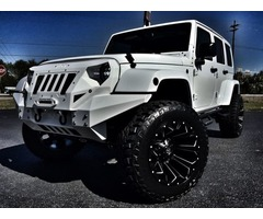 2017 Jeep Wrangler GRUMPER CUSTOM LIFTED LEATHER 24S