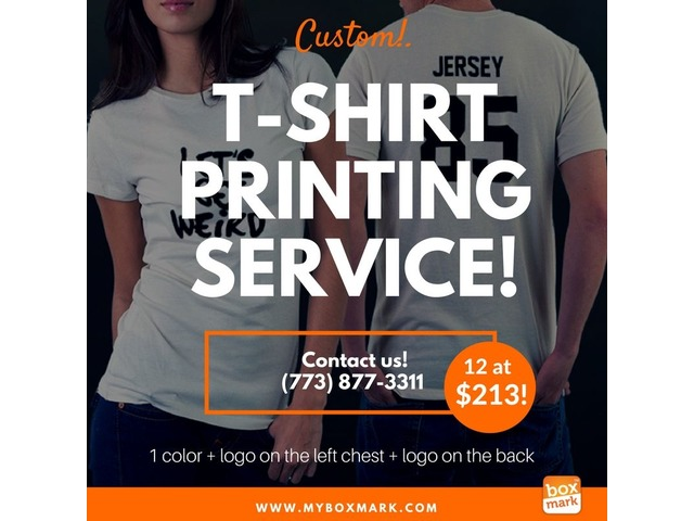 t-shirt printing companies near me - printing services - chicago ...