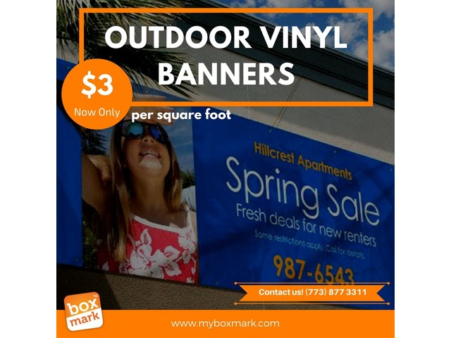 vinyl banners near me - Printing Services - Chicago