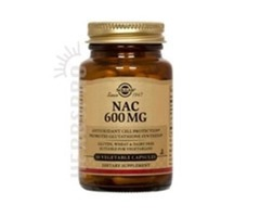 NAC 120 V Caps 600 mg - Solgar Products on Sales