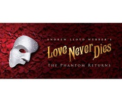 Love Never Dies Houston Tickets at TixBag