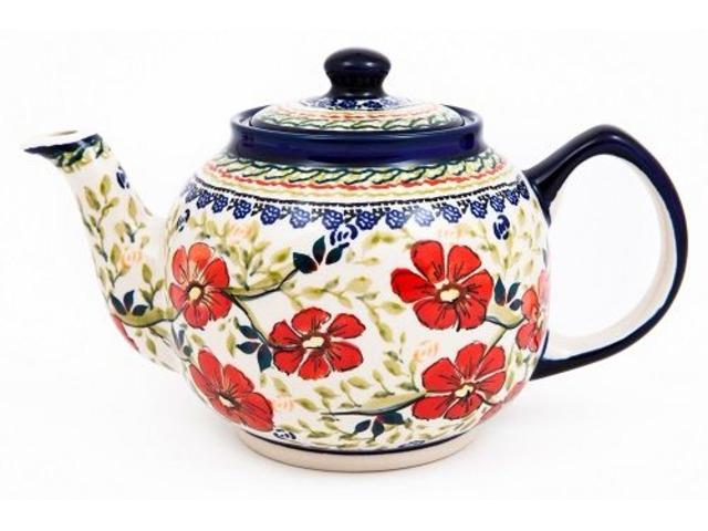 Buy Stylish Hand Painted Stoneware Teapot | free-classifieds-usa.com