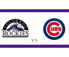 Colorado Rockies vs. Chicago Cubs Match Tickets at TixTM