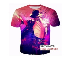 3D T-Shirt MICHAEL JACKSON for Fans