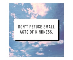 Small Acts Of Kindness Stories