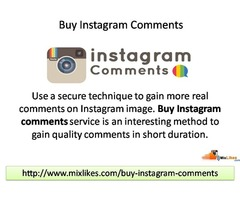 Buy Instagram Comments - Instagram Photo Comments