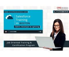 Online salesforce training in Boston