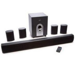 have Bluetooth speaker home system with subwoofer and remote