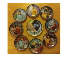 Limited Addition Susie Morton Star Trek Plates