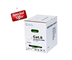 Cat6 Plenum Ethernet Networking Cable 17% OFF