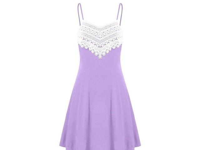 Crochet Lace Backless Mini Slip Dress | free-classifieds-usa.com