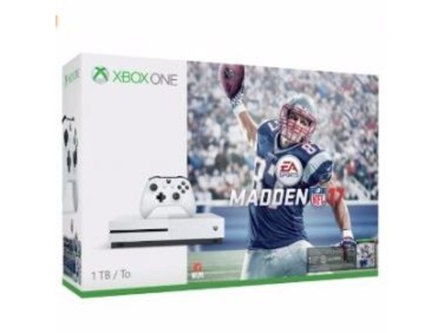 Xbox One S 1TB Console - Madden NFL 17 Bundle | free-classifieds-usa.com