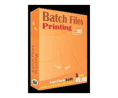 Most Usable software for printing is Batch file printing