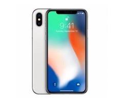 Apple iPhone X 256GB Silver Unlocked Phone