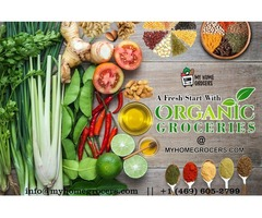 Buy Organic Products Online Dallas @ MyHomeGrocers