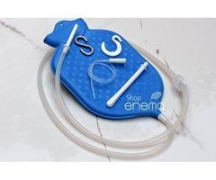 Shop for High-Quality 2-quart Rubber Enema Bag Blue