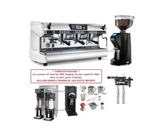 COFFEE SHOP Espresso Machine Packages with Barista Training! BEST USA PRICES!