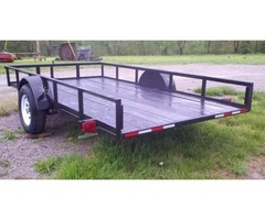 2018 New 5 x 10ft Tilt Trailer w/ 3500lb Axle