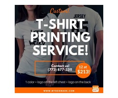 custom graphic print of t shirt USA