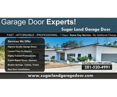 All in One Garage Door Repair Services Sugar Land TX 77498
