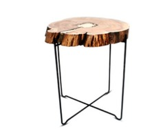 Buy Molten Metal Side Table at Aglow Exports Inc.