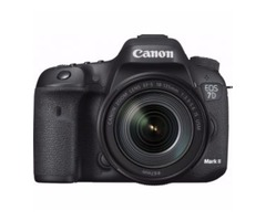 Canon - EOS 7D Mark II DSLR Camera with EF-S 18-135mm IS USM Lens Wi-Fi Adapter Kit