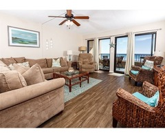 Very Spacious! Beach Front, Wifi, Pool, Tennis Court, Large Balcony