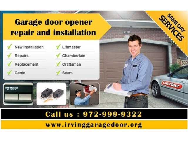 Fast Garage Door Repair at Irving, TX (972-999-9322) | free-classifieds-usa.com