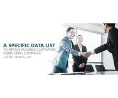 SAP CRM Users Email Lists-Technology Data Services
